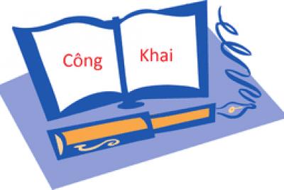 CÔNG KHAI DỰ TOÁN THU – CHI NSNN NĂM 2020